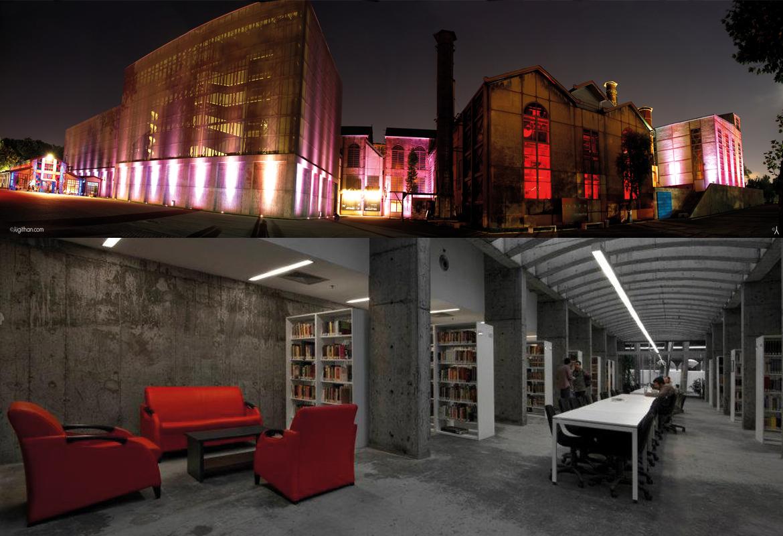 Istanbul Bilgi University (Santral Istanbul Project)